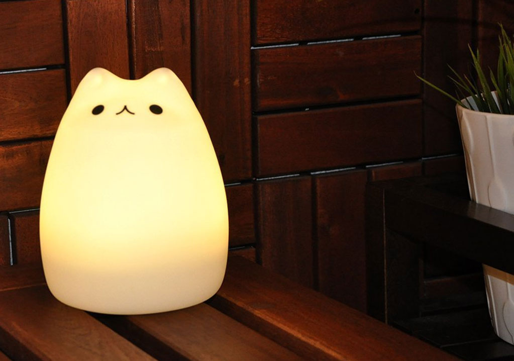 Veilleuse chat Pusheen
