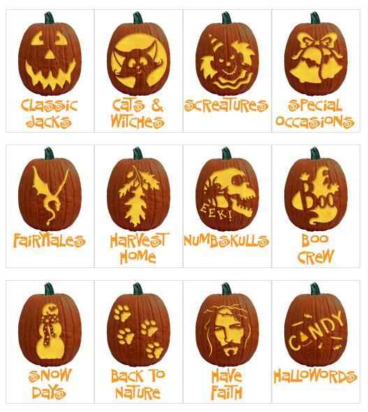 Des Centaines De Stencils Pour Decouper Votre Citrouille D Halloween