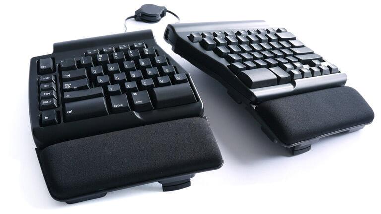 clavier ergo pro matias posture ergonomie programmable