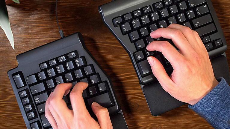 clavier ergo pro matias posture ergonomie programmation