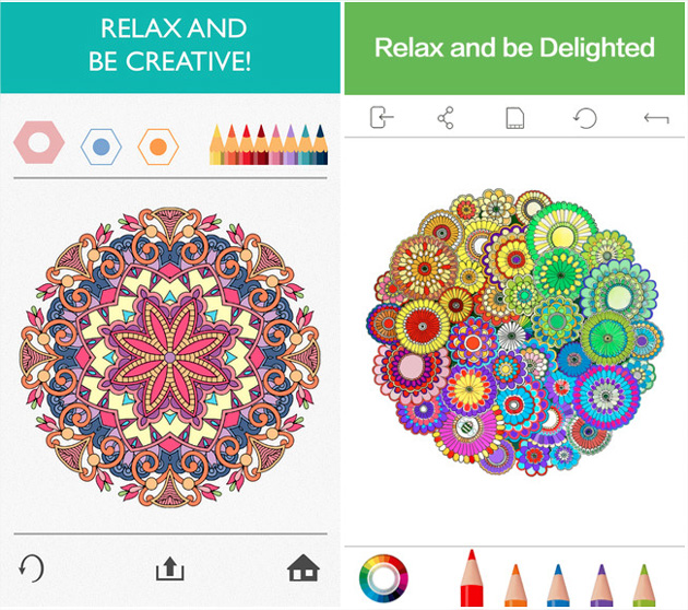 Coloriage Adulte Fini.Colorfy Une App D Art Therapie Avec Des Coloriages Varies