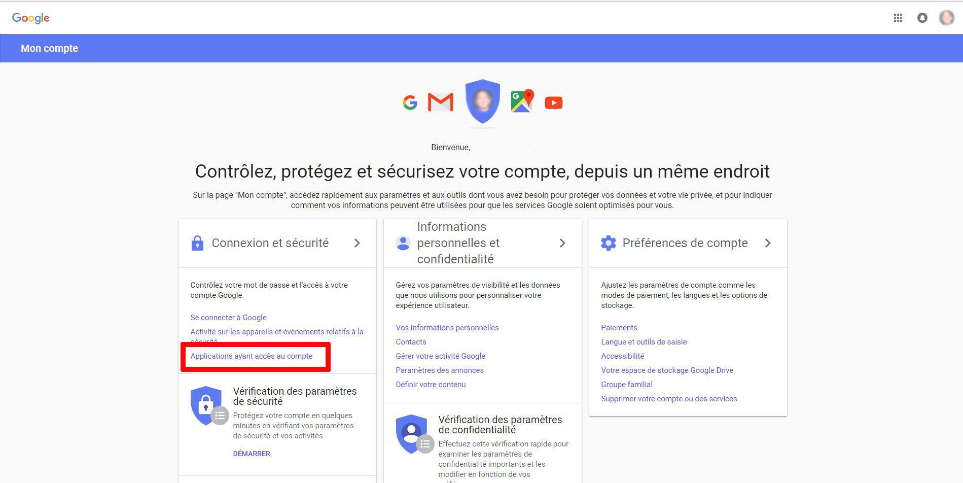 Empechez Des Apps De Collecter Des Informations Sur Votre Compte