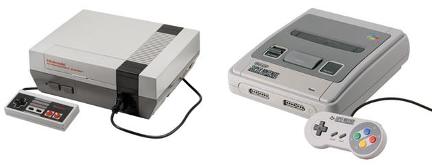 une console portative pour jouer vos vieux jeux nintendo nes et snes. Black Bedroom Furniture Sets. Home Design Ideas
