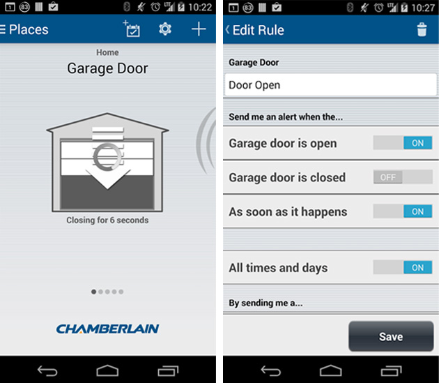 ouvrir et fermer sa porte de garage avec son t l phone