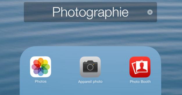 Creare cartelle di app'applications