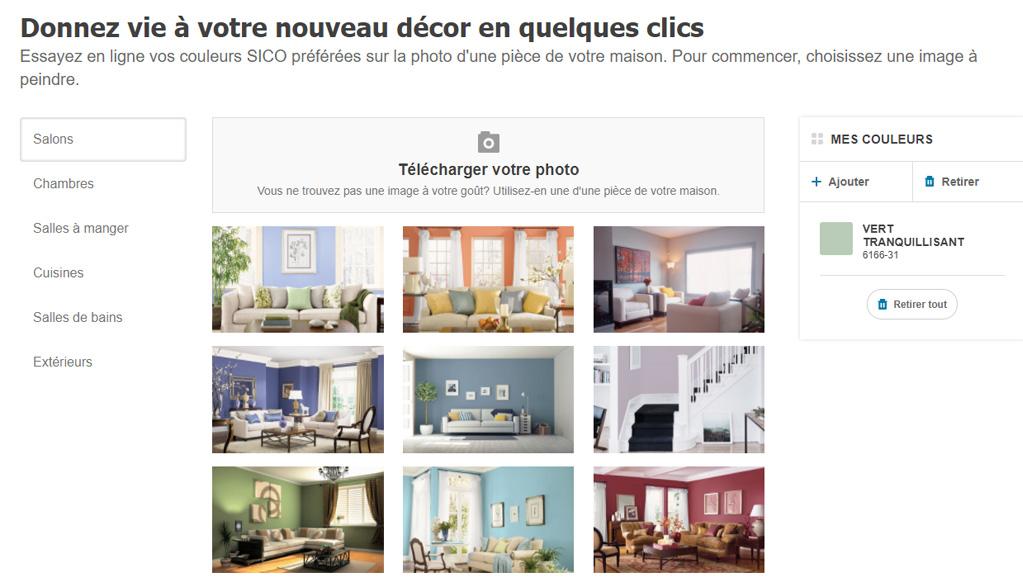 Application et sites web pour trouver la bonne couleur de for Sites web pour concevoir des maisons gratuitement