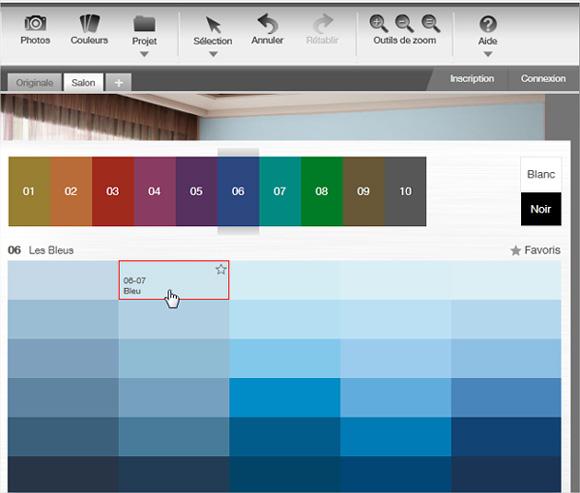 Un site pour essayer de nouvelles couleurs de peinture sur ...
