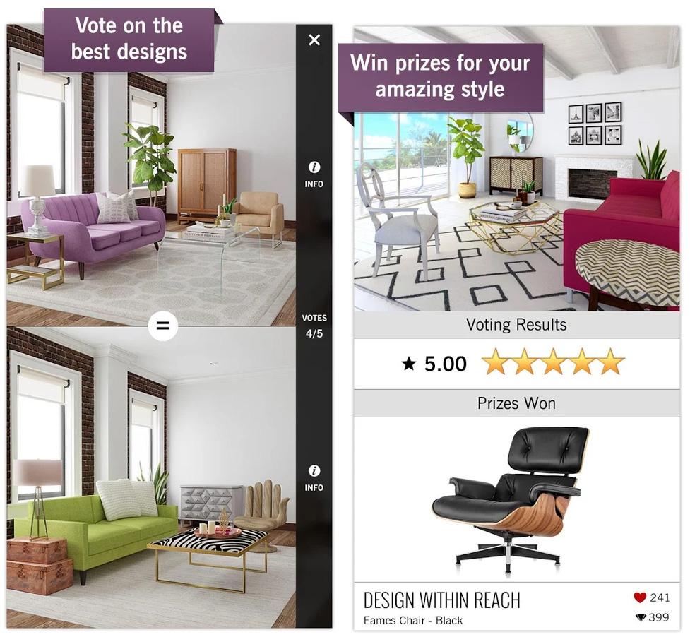 Transformez une pi ce de votre maison partir de cette application for Quelle piece preferez vous dans votre maison