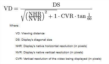 quelle distance de recul doit separer le sofa du televiseur ou lecran hd  qDqkpAj