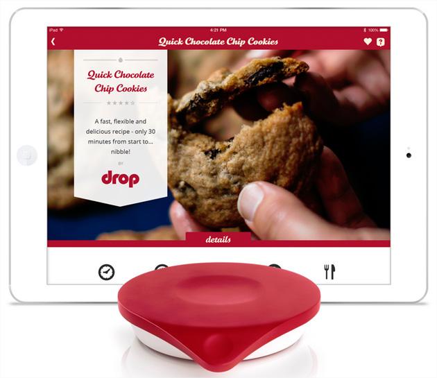 Balance De Cuisine Connectee A Un Ipad Pour Cuisiner Efficacement