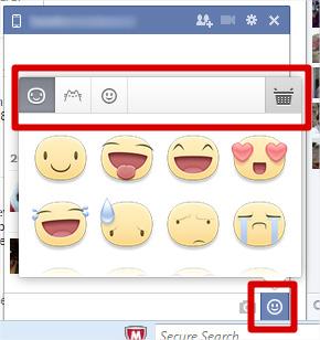 Exceptionnel Ajouter des émoticônes ou smileys à vos messages Facebook  VL84