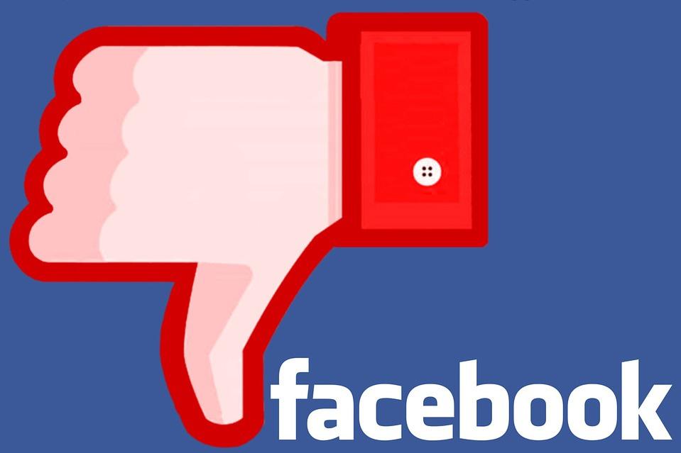 Facebook n'aime pas