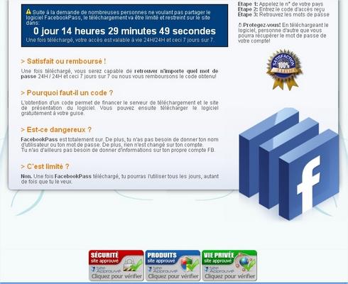 Retrouver Un Mot De Passe Sur Facebook Francoischarroncom