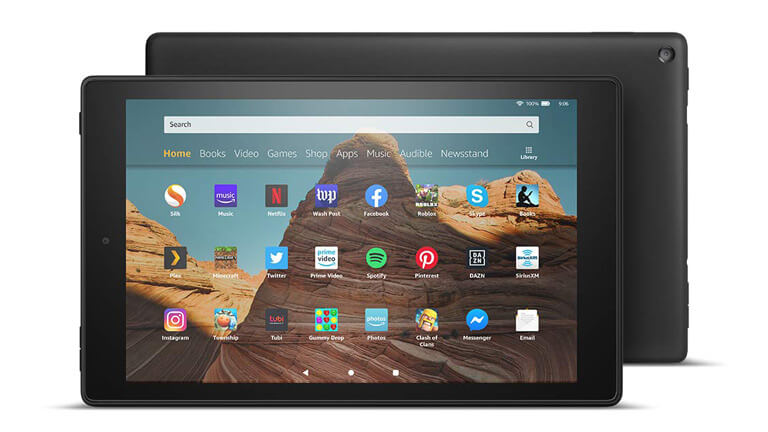 fire hd 10 amazon écran full hd 10 po