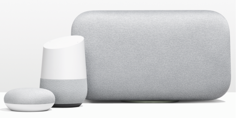 Google Home, Mini et Max