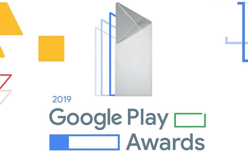 Google Play Awards 2019 meilleures applications mobile