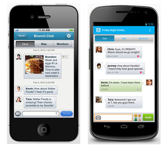 Texto En Groupe Avec Groupme Pour Ios Andro 239 D Et Windows