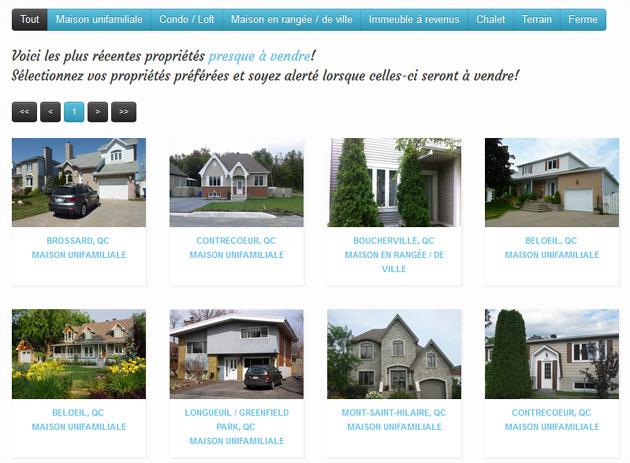 Un site pour trouver ou annoncer l 39 avance une maison bient t en vente - Trouver le proprietaire d une maison ...