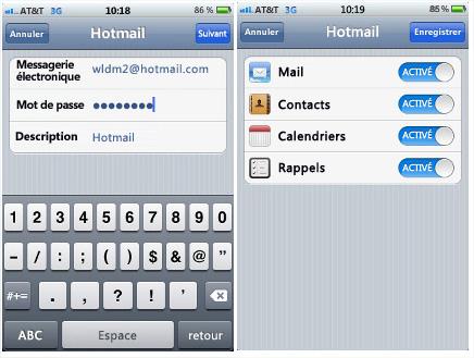 Synchroniser Calendrier Outlook Avec Iphone.Synchroniser Un Calendrier Hotmail Ou Un Agenda Google Dans
