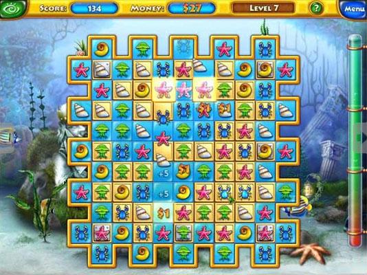 Personnaliser un aquarium avec les jeux fishdom pour pc for Big fish games free download full version