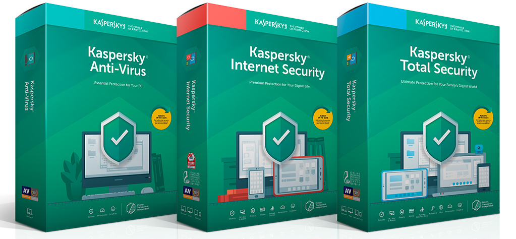 Kasepersky antivirus suite de protections ordinateur