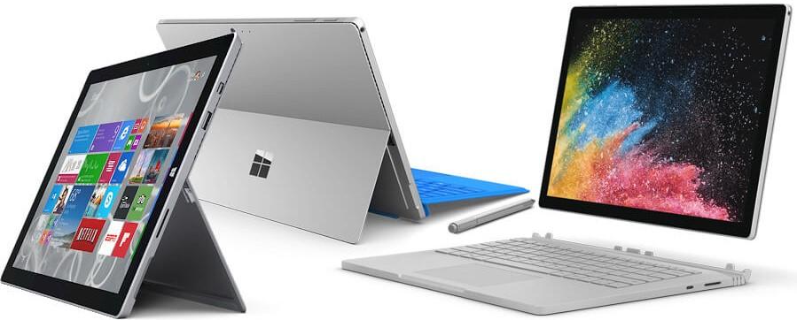 quelle tablette windows surface choisir