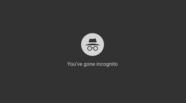 mode incognito youtube