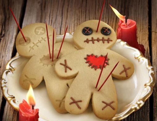 Biscuits De Pain D Epices Revisites Pour L Halloween