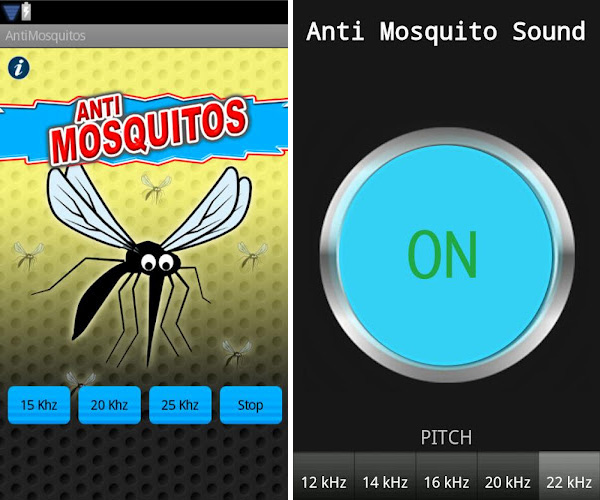 loigner les moustiques avec son cellulaire gr ce une application. Black Bedroom Furniture Sets. Home Design Ideas