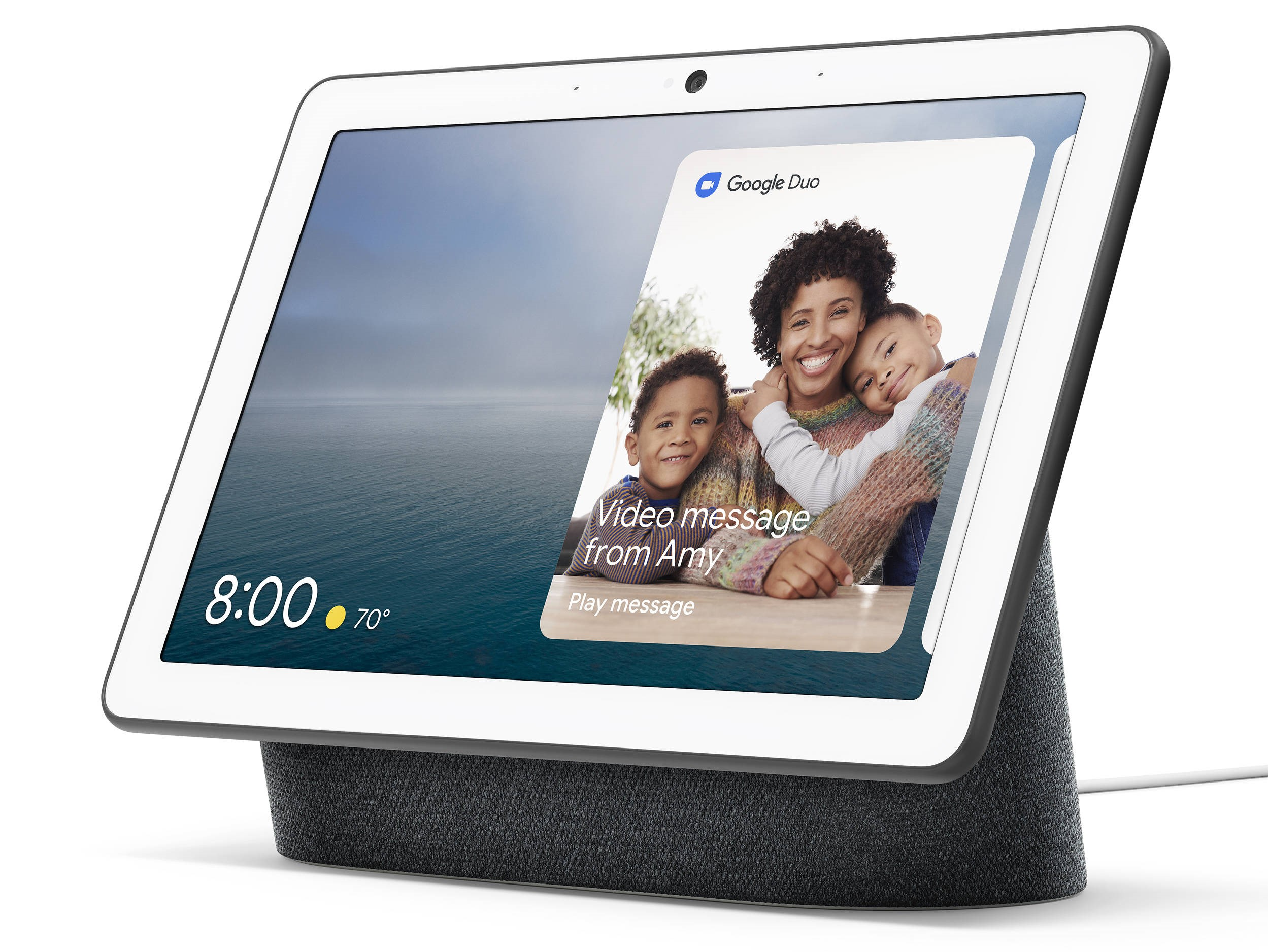 nest hub max version amelioree assistant vocal ecran google