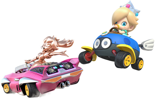 d couvrez les nouveaut s de mario kart 8. Black Bedroom Furniture Sets. Home Design Ideas