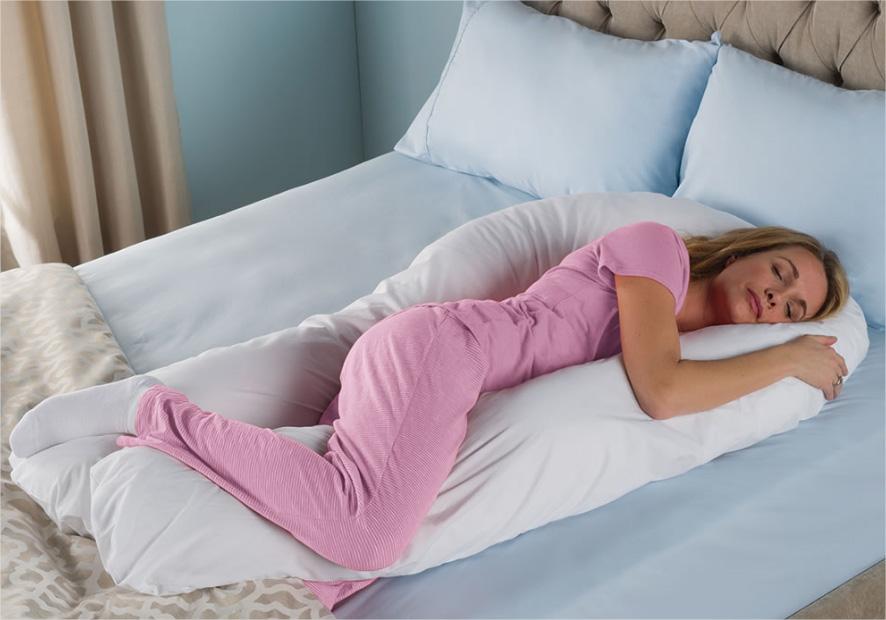 oreiller de corps L'oreiller qui supporte le corps en entier pour un confort total  oreiller de corps