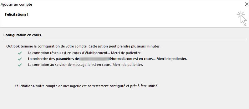 configuration compte hotmail sur application courriel tablette samsung