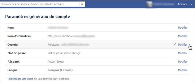 Facebook Assigne Une Adresse Courriel A Tous Ses Membres Quoi