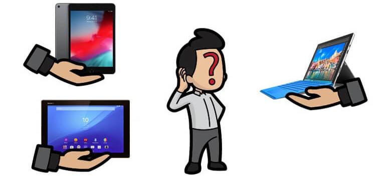 comment bien choisir sa tablette