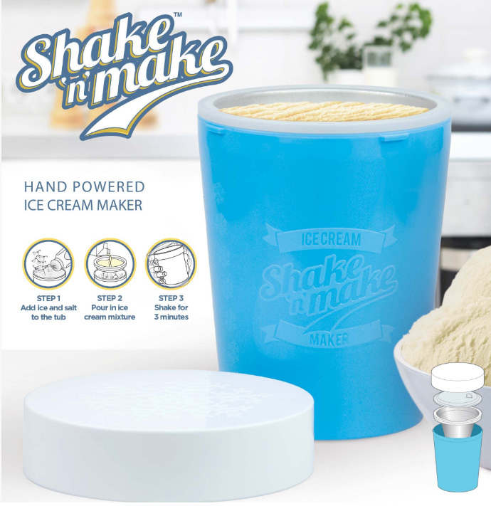 Shake N' Make Ice Cream Maker