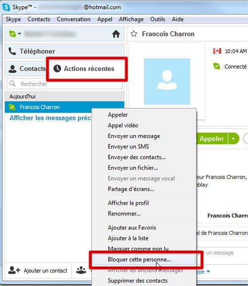 Comment Bloquer Et Reporter Un Appel Indesirable Sur Skype