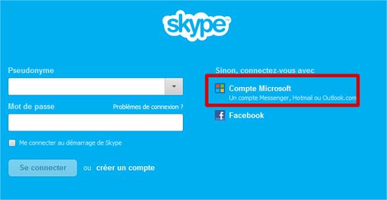 skype et messenger fusionnent