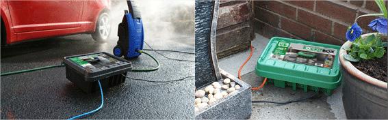 Boitier tanche pour prot ger les fils lectriques des - Boitier prise etanche exterieur ...