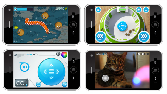 Sphero applications jeux