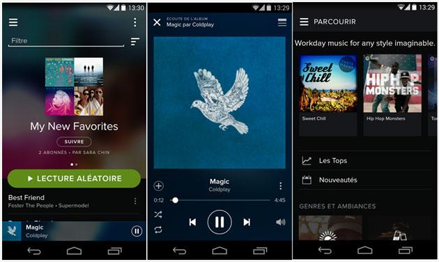 avoir spotify premium gratuit iphone