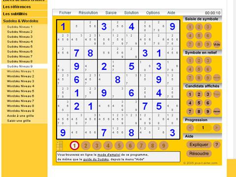 sudoku en ligne
