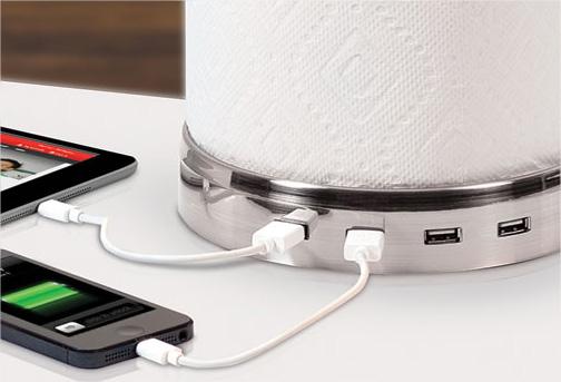 un support essuie tout pour recharger vos appareils. Black Bedroom Furniture Sets. Home Design Ideas