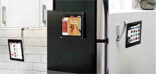 support solide et versatile pour maintenir un ipad dans 1001 positions. Black Bedroom Furniture Sets. Home Design Ideas