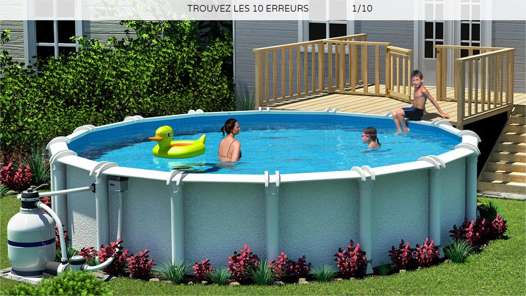 S curit des piscines la v tre passe t elle le test for Test de piscine