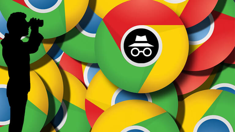 traquer mode incognito google chrome mensonge