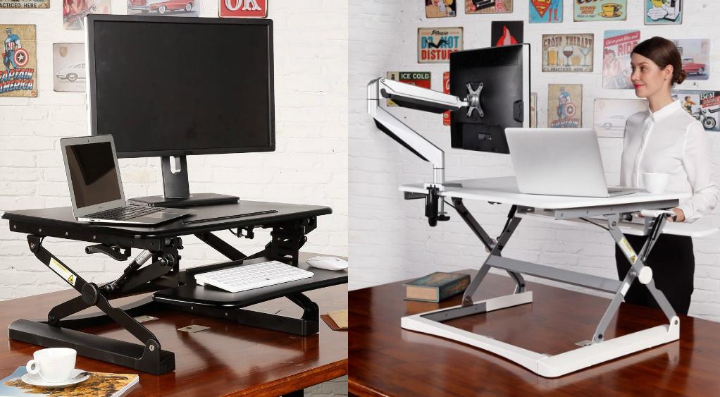 Faites du vélo à votre bureau et travaillez debout sans changer de