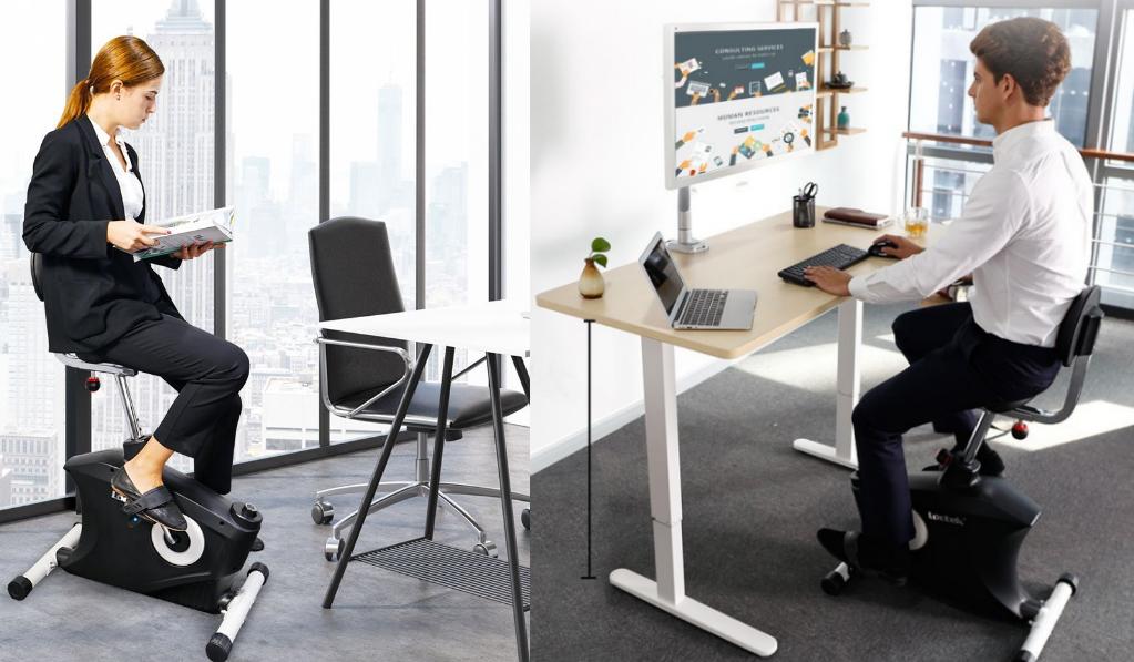 Velo bureau v lo bureau un concept innovant pour am - Bureau de reve pour les amoureux du velo ...