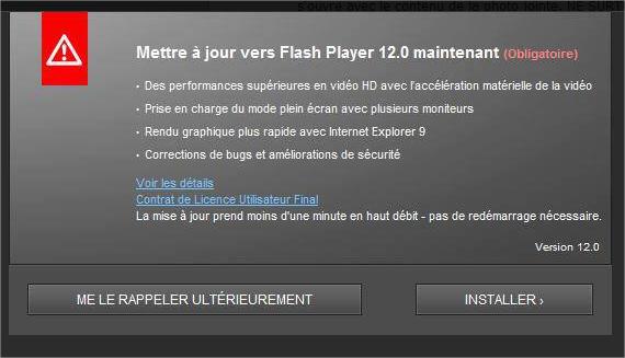 Virus Flash Player