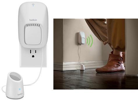 activer les appareils avec son cellulaire ou par d tection de mouvement. Black Bedroom Furniture Sets. Home Design Ideas